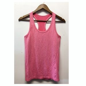 Zella | Hot Pink Athletic Racerback Tank Top EUC
